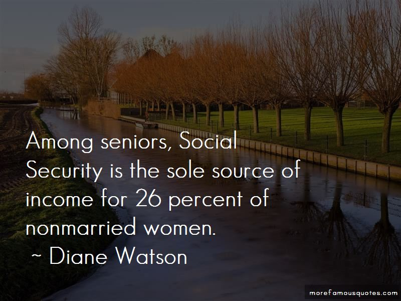 Diane Watson Quotes