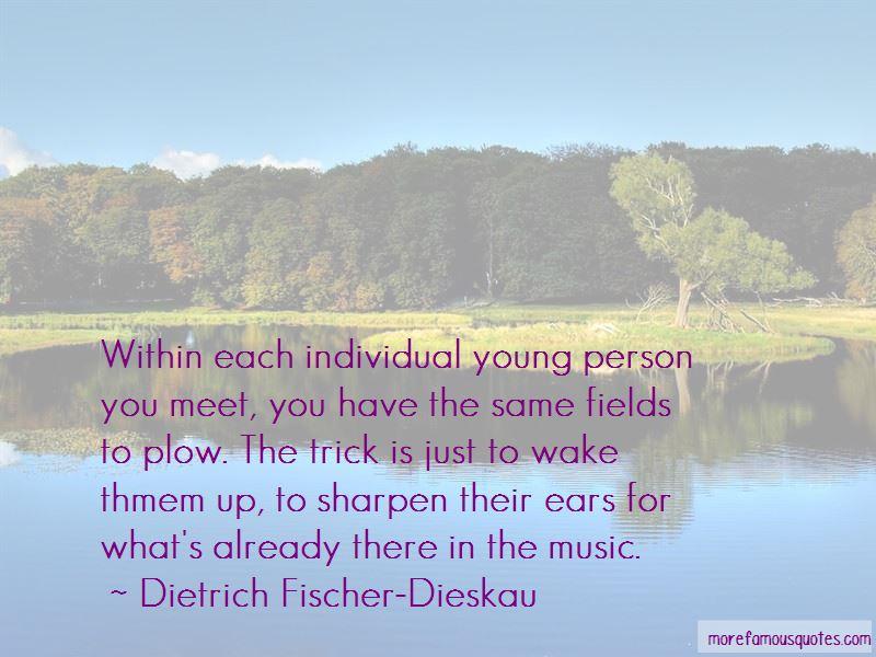 Dietrich Fischer-Dieskau Quotes Pictures 2