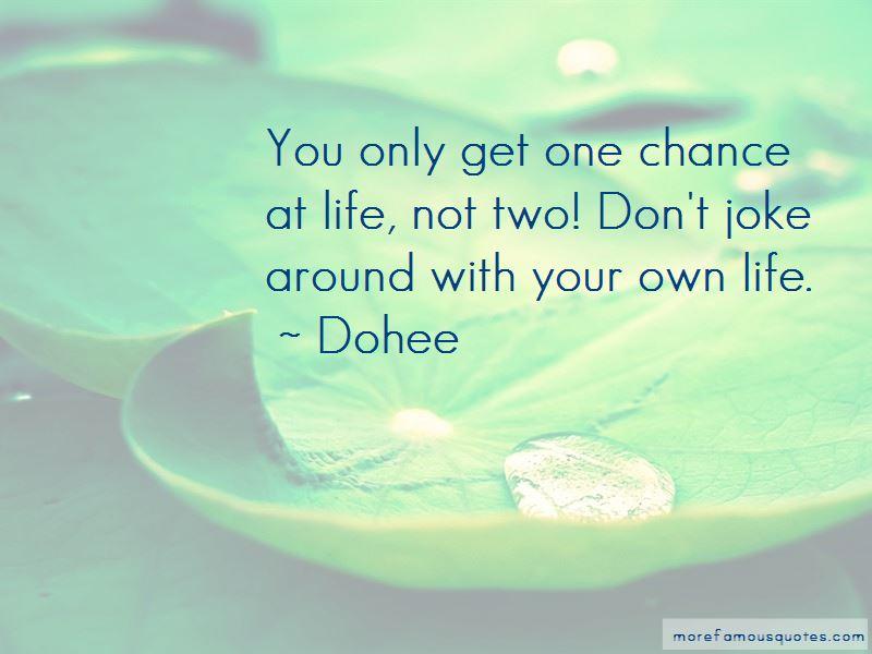 Dohee Quotes