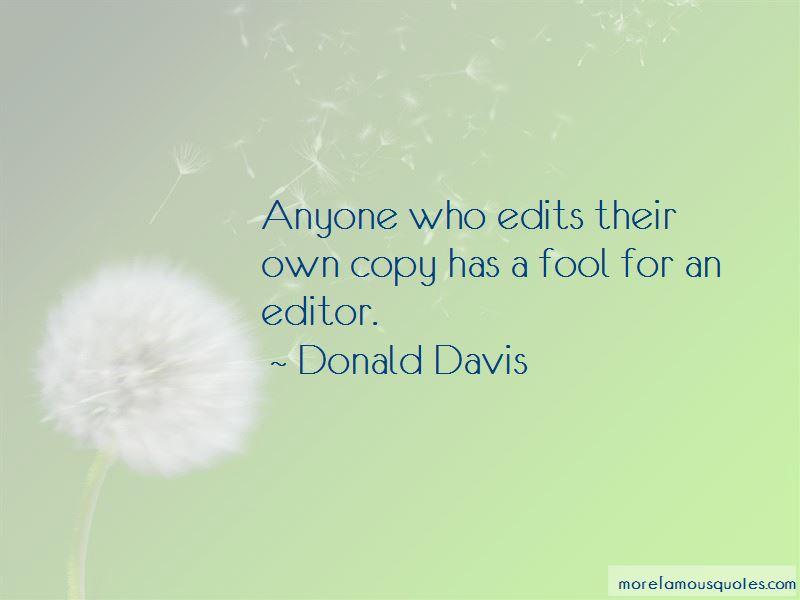 Donald Davis Quotes Pictures 4