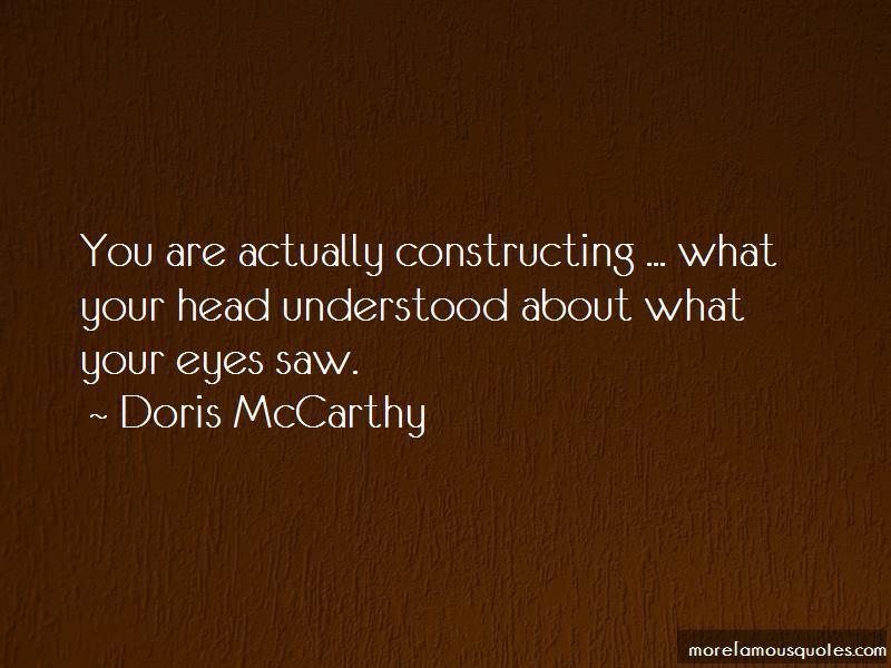 Doris McCarthy Quotes Pictures 2