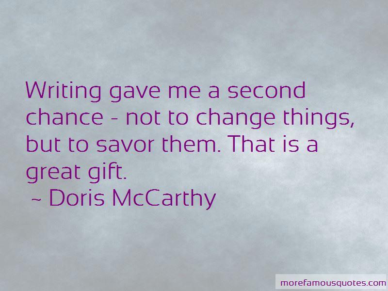 Doris McCarthy Quotes
