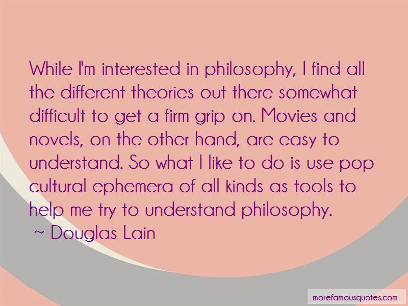 Douglas Lain Quotes