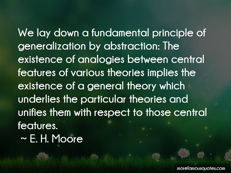 E. H. Moore Quotes