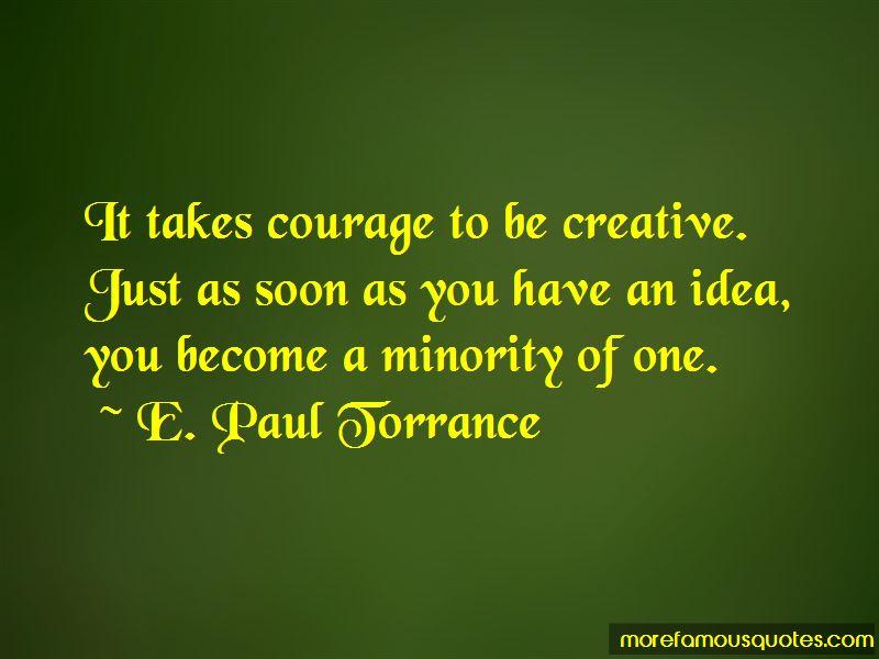E. Paul Torrance Quotes