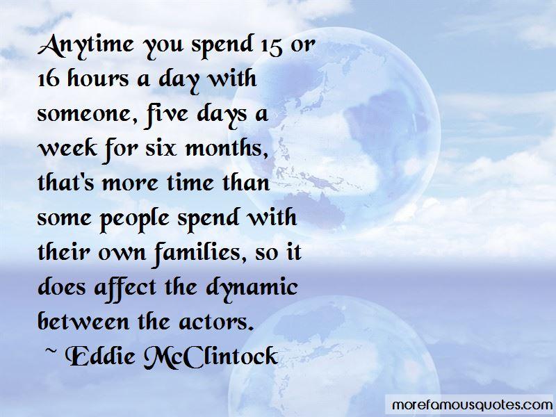 Eddie McClintock Quotes