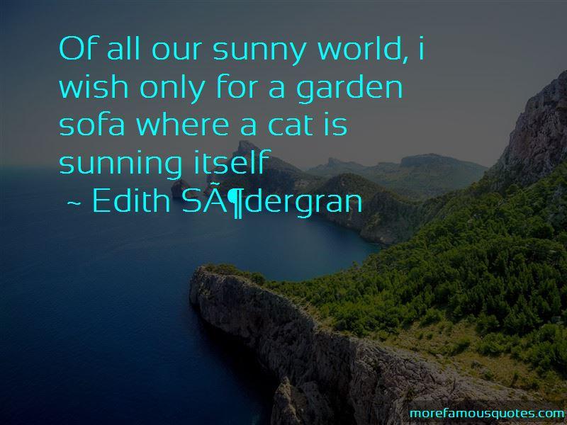 Edith Sodergran Quotes Pictures 3