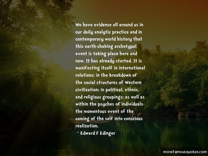 Edward F Edinger Quotes