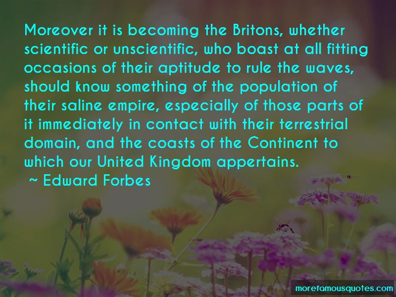 Edward Forbes Quotes Pictures 4