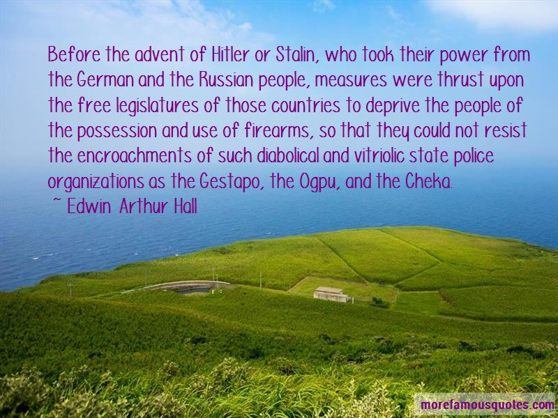 Edwin Arthur Hall Quotes