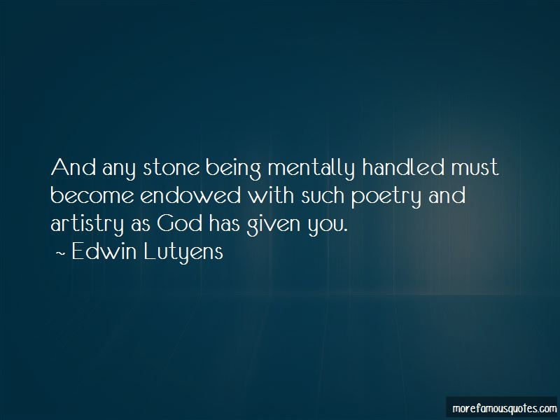 Edwin Lutyens Quotes Pictures 2