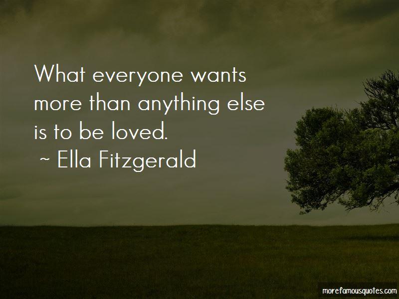 Ella Fitzgerald Quotes