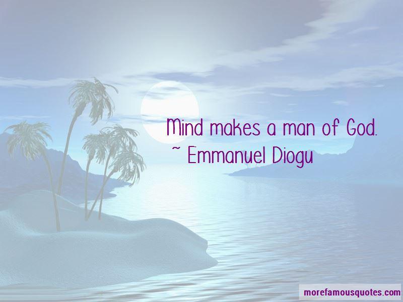 Emmanuel Diogu Quotes