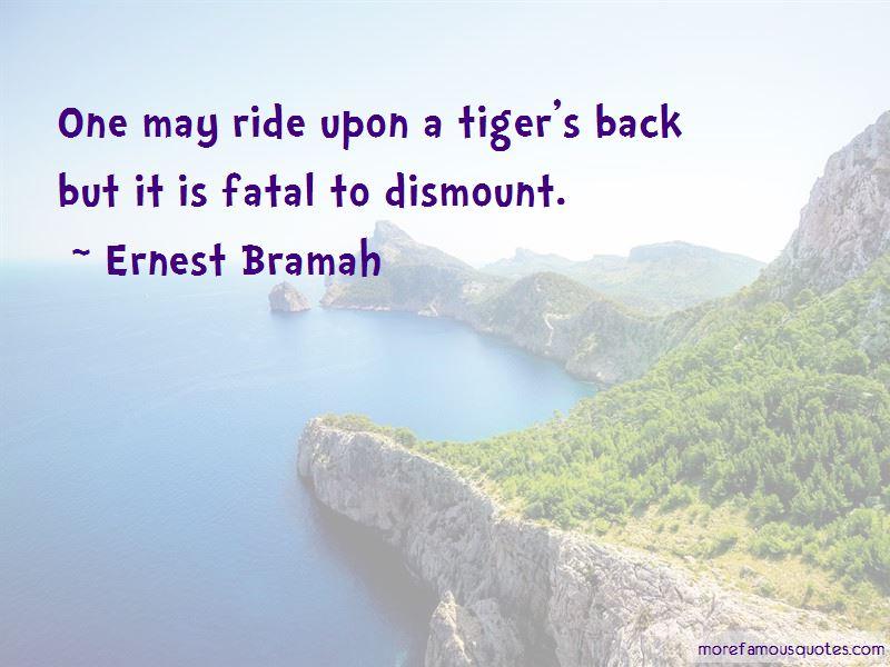 Ernest Bramah Quotes Pictures 2