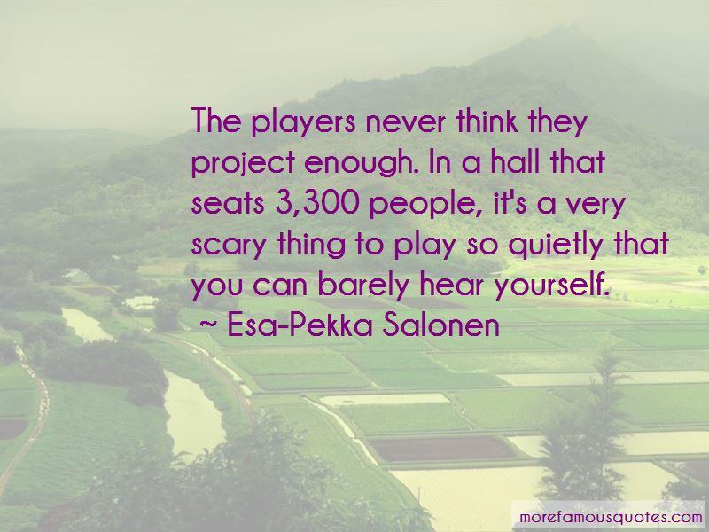 Esa-Pekka Salonen Quotes