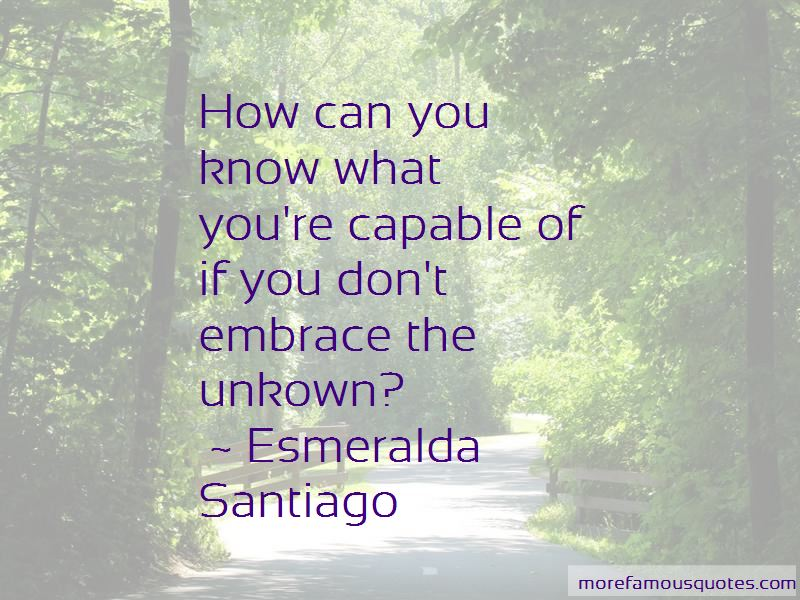 Esmeralda Santiago Quotes Pictures 3