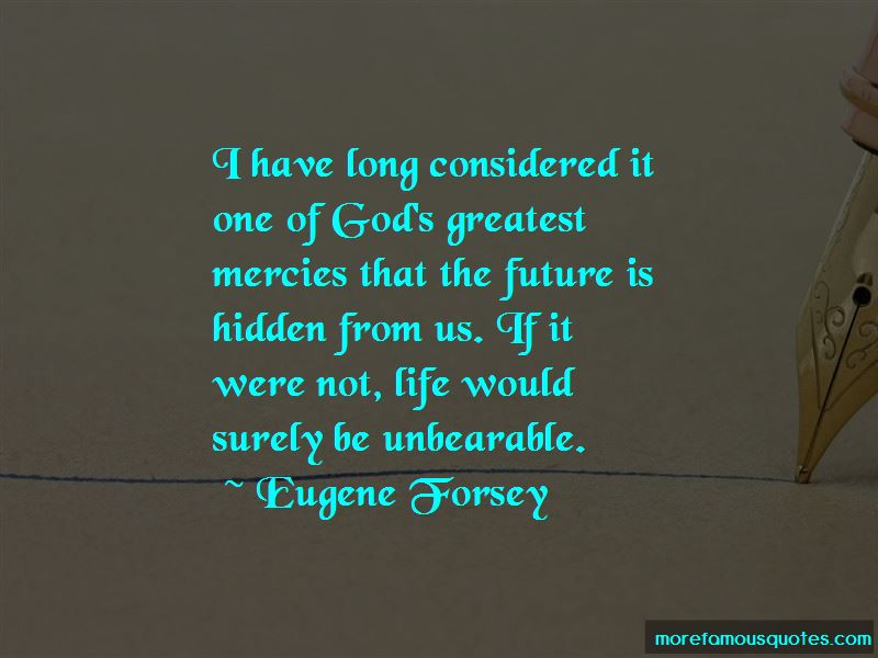 Eugene Forsey Quotes
