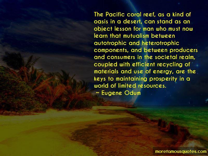 Eugene Odum Quotes Pictures 2