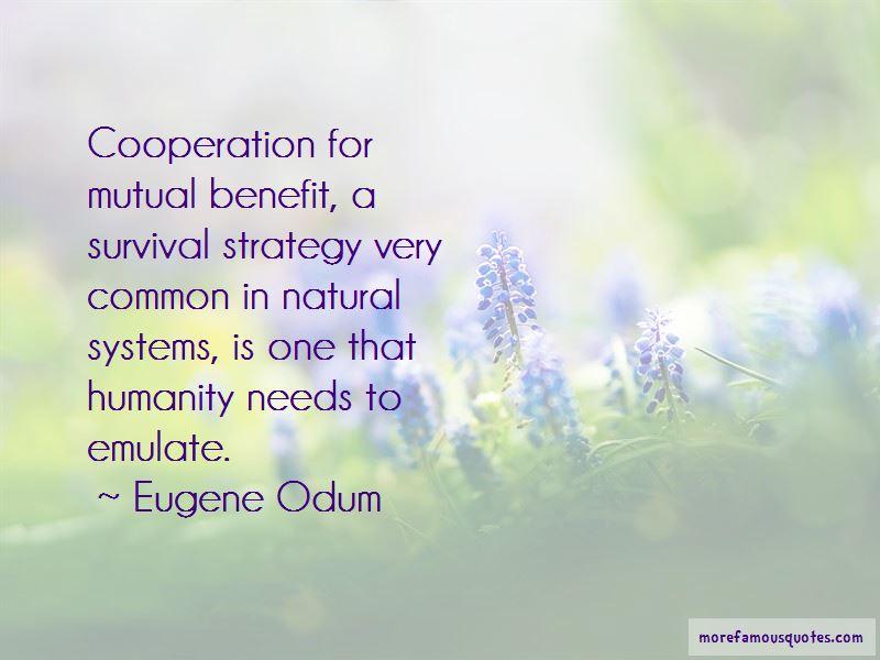 Eugene Odum Quotes