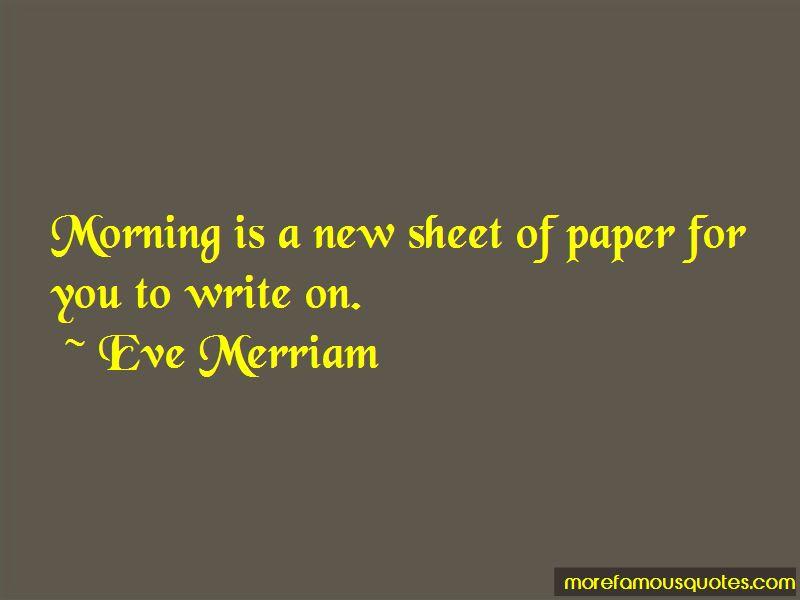 Eve Merriam Quotes Pictures 4