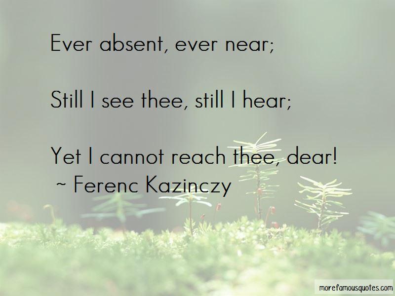 Ferenc Kazinczy Quotes