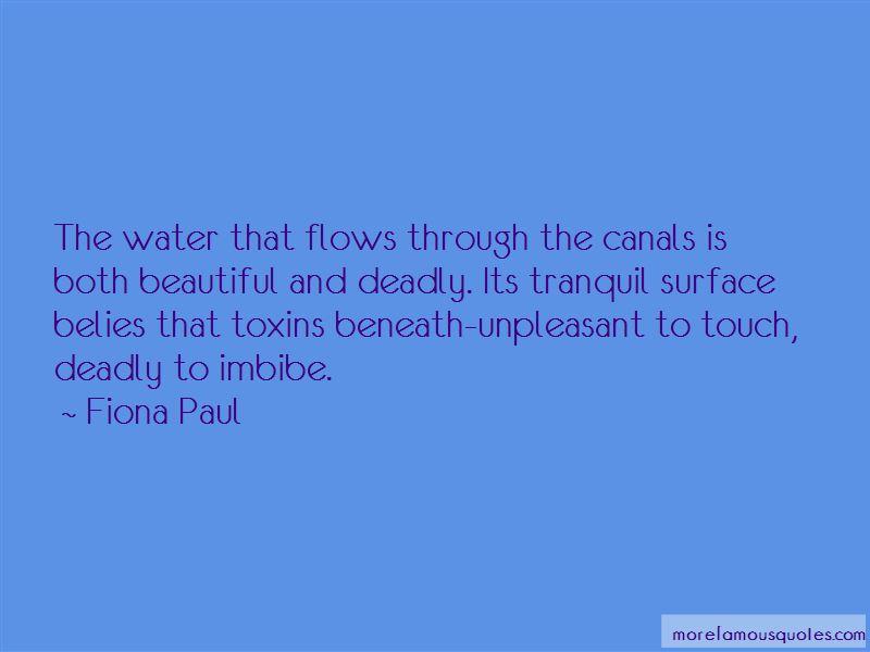 Fiona Paul Quotes