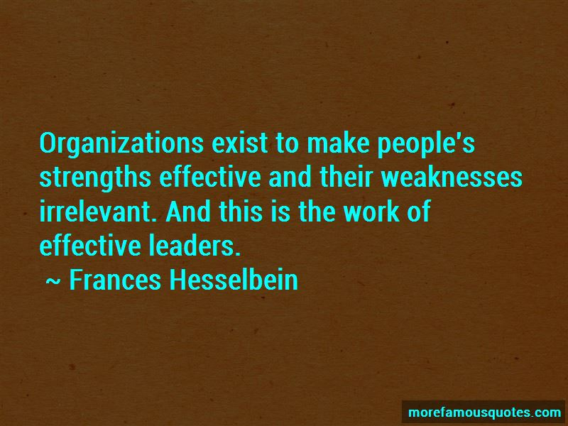 Frances Hesselbein Quotes Pictures 2