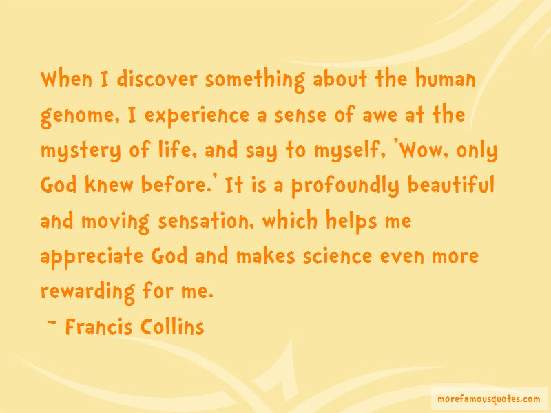 Francis Collins Quotes Pictures 2