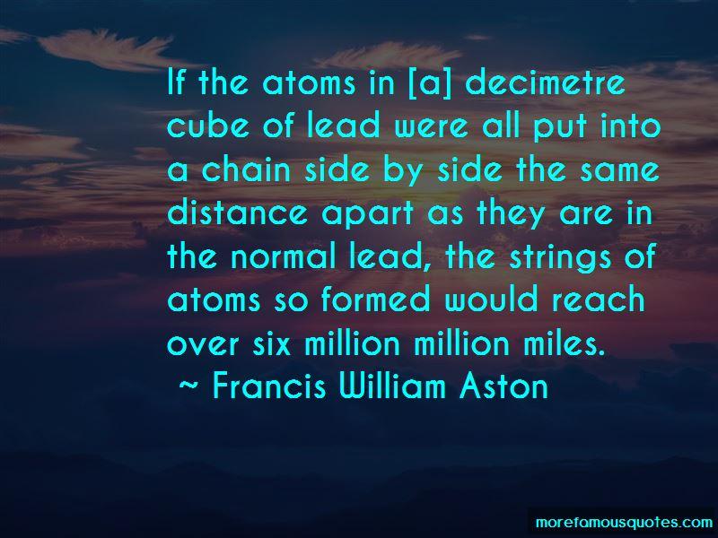 Francis William Aston Quotes Pictures 2