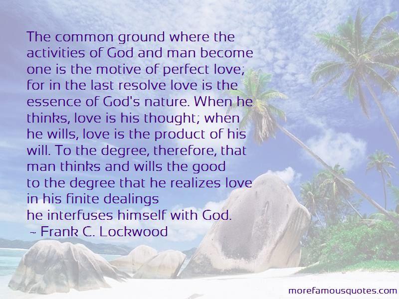 Frank C. Lockwood Quotes Pictures 2