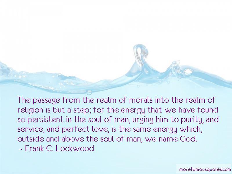 Frank C. Lockwood Quotes Pictures 3