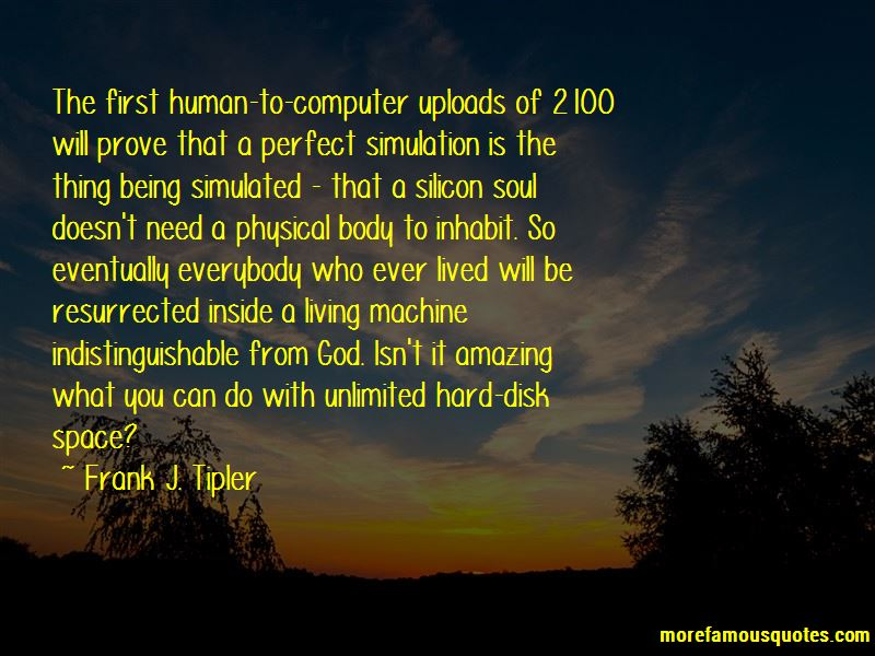Frank J. Tipler Quotes Pictures 3