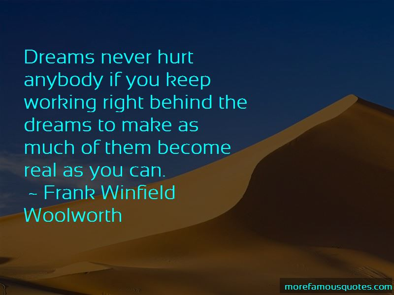Frank Winfield Woolworth Quotes