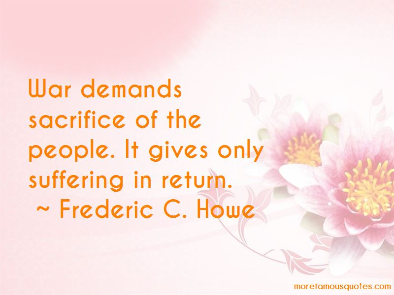 Frederic C. Howe Quotes Pictures 2