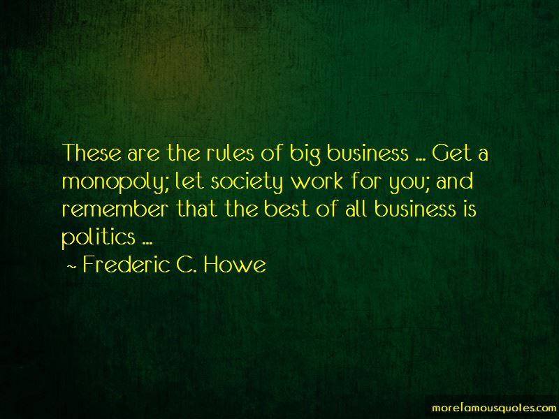 Frederic C. Howe Quotes Pictures 4