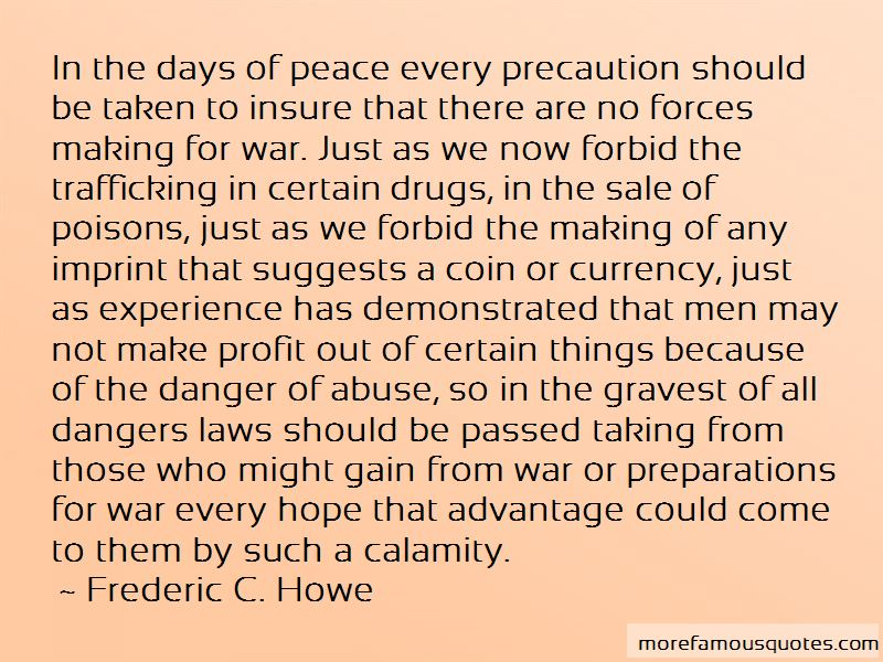 Frederic C. Howe Quotes