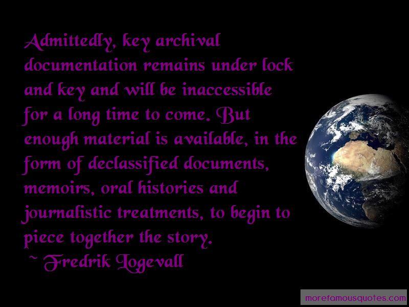 Fredrik Logevall Quotes