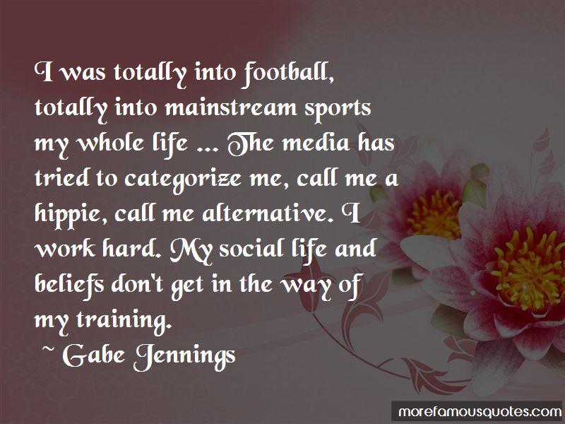 Gabe Jennings Quotes