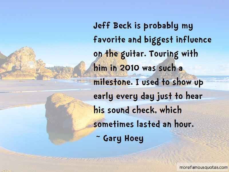 Gary Hoey Quotes Pictures 3