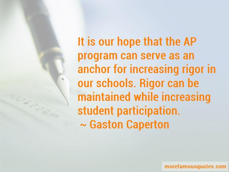 Gaston Caperton Quotes Pictures 4