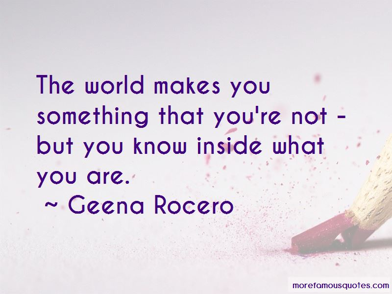 Geena Rocero Quotes Pictures 2