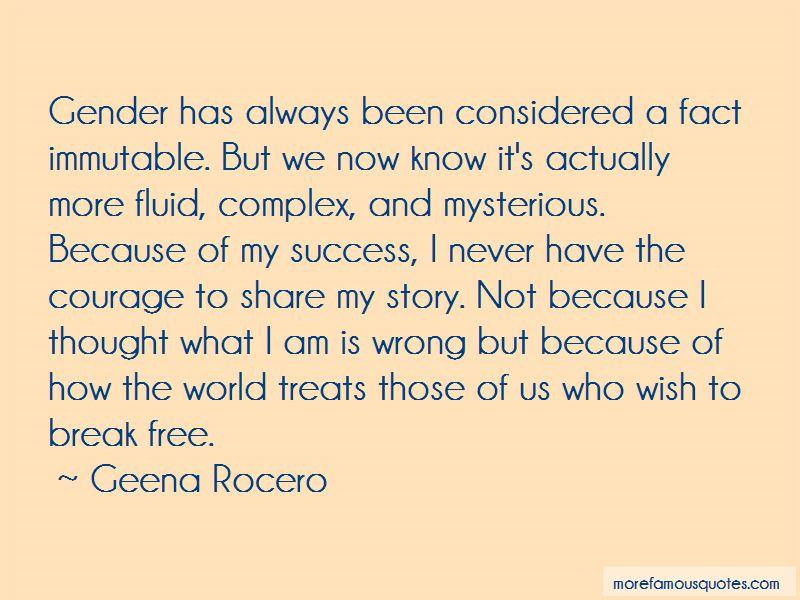 Geena Rocero Quotes Pictures 3