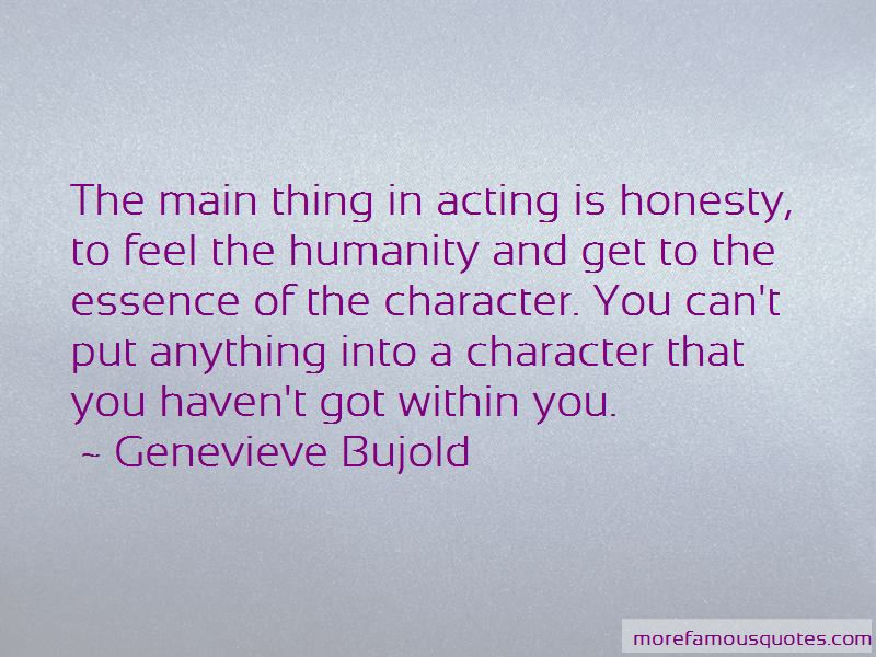 Genevieve Bujold Quotes Pictures 2