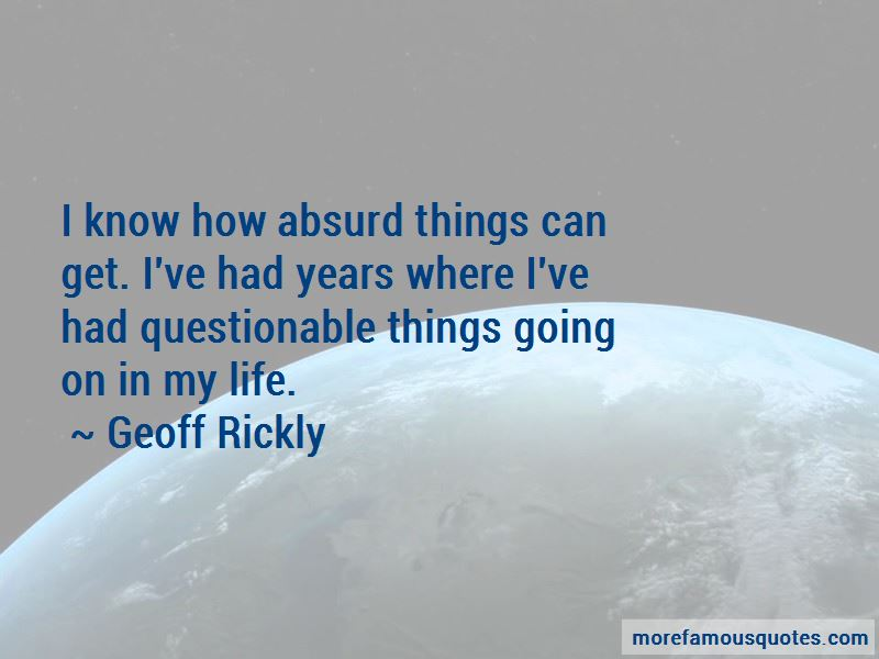 Geoff Rickly Quotes Pictures 2