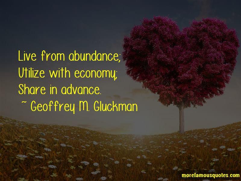 Geoffrey M. Gluckman Quotes