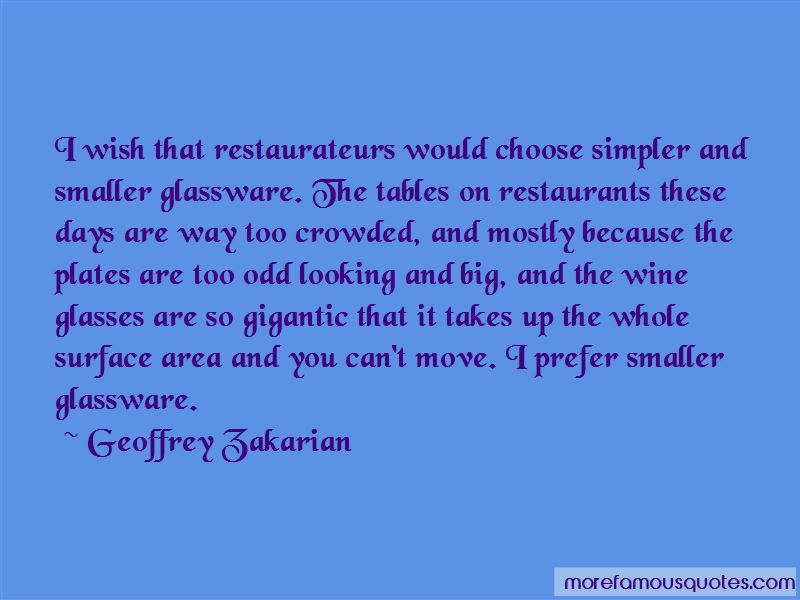 Geoffrey Zakarian Quotes Pictures 4
