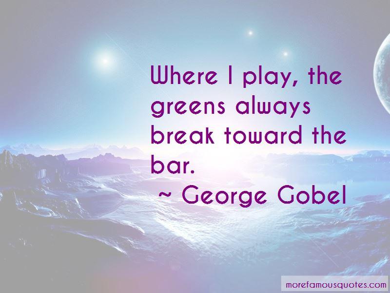 George Gobel Quotes