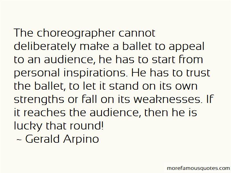 Gerald Arpino Quotes