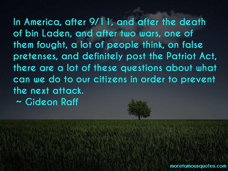 Gideon Raff Quotes Pictures 4