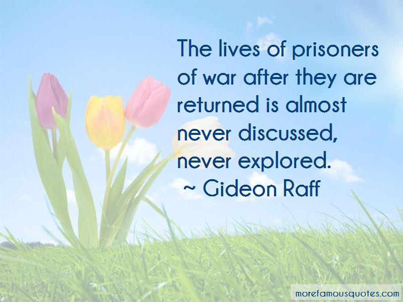 Gideon Raff Quotes